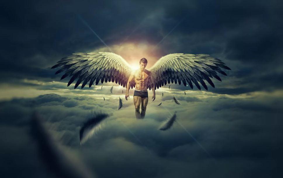 Ангелы-помощники Охраняют нас.