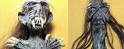 Жуткие индонезийские куклы-монстры.