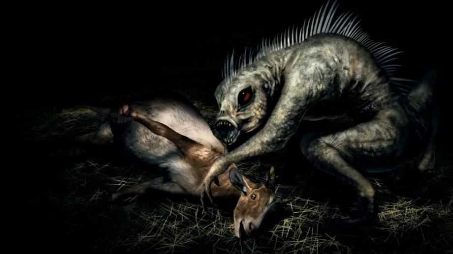 Террор загадочных существ.