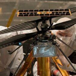 На Марсе будут работать вертолёты.