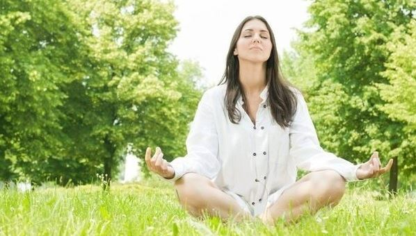 Медитация на природе.