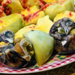 Очень необычные блюда разных стран мира.