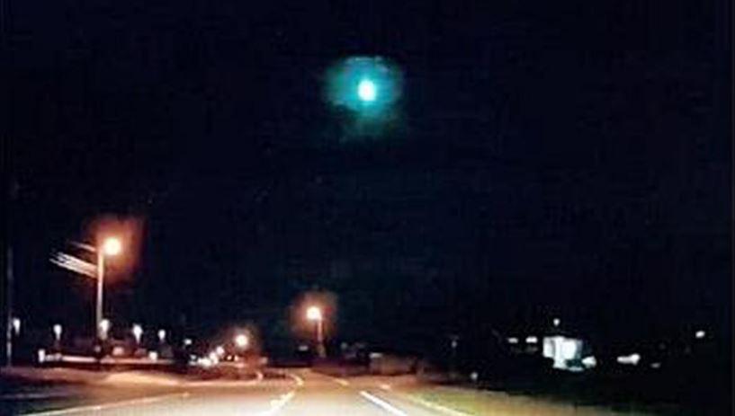 Десятки людей сообщили, что видели огненный шар, пролетевший по небу над Техасом. Фото: 360tv.ru