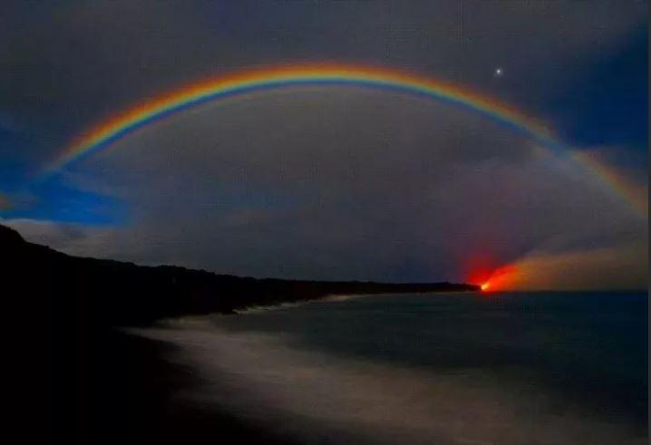 Лунная радуга.