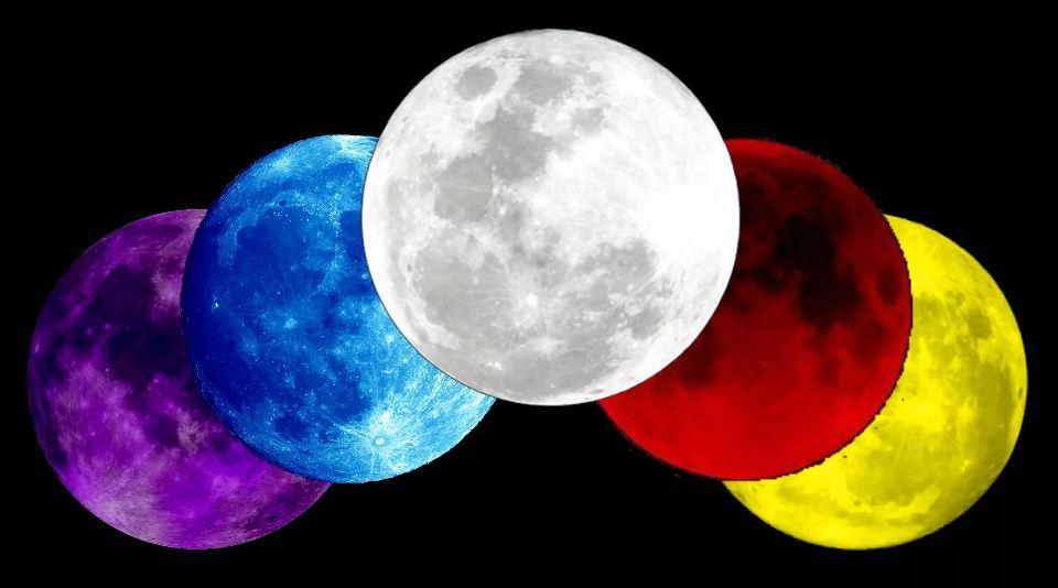 Цветные луны. Вам какая больше нравится?