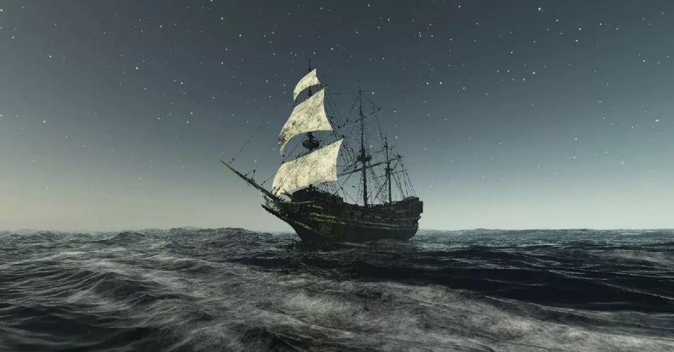 Корабль-призрак Мэри Селесте.