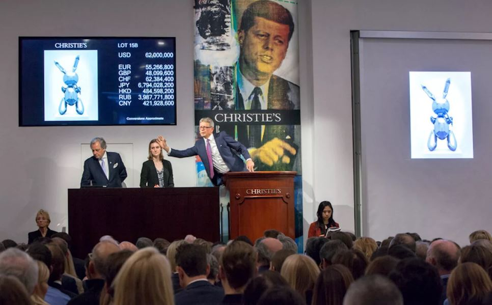Два лота аукциона Christie's принёсшие доход.