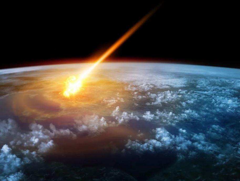 Астероидная бомбардировка.