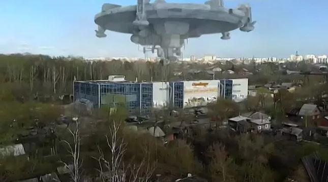 НЛО в Томске, так близко вы ещё не видели!