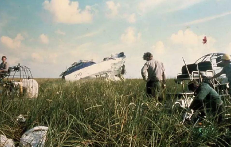Место катастрофы рейса 401.
