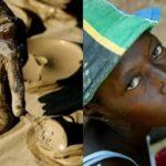 Увы, популярное гаитянское лакомство - лепёшки из грязи.