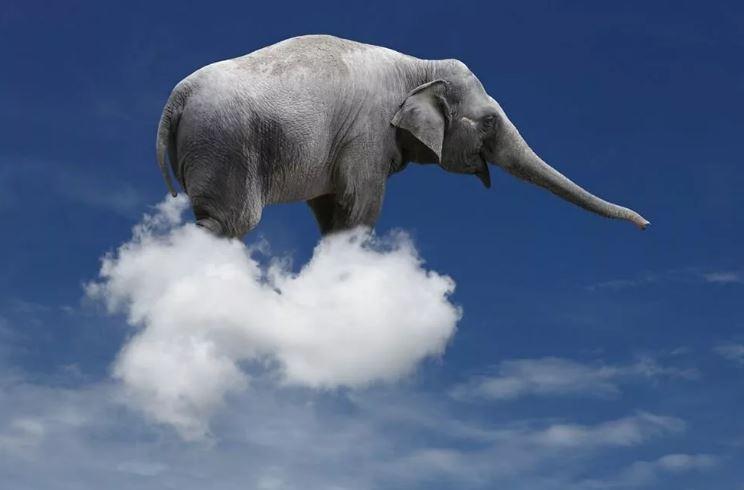 Сложно поверить, - 500 тонн?! И это только среднее облако!