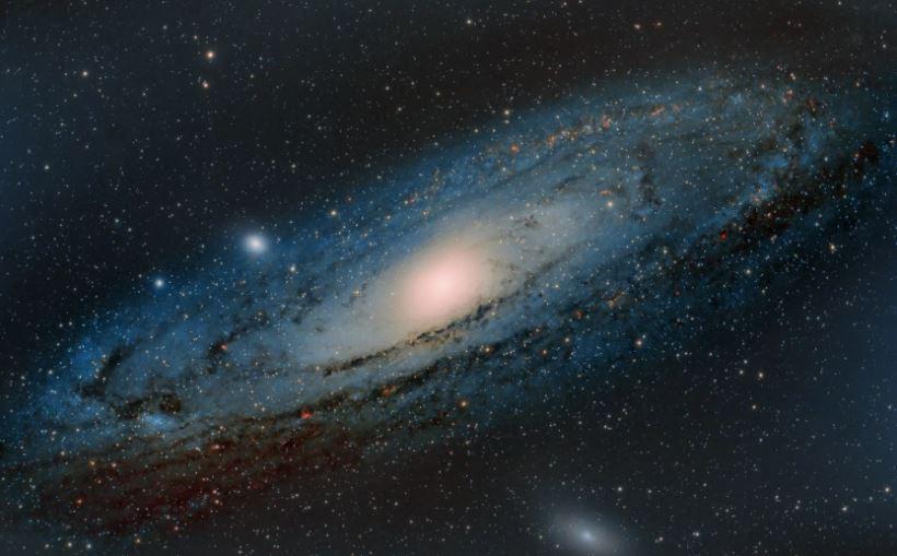 Туманность Андромеды. Наша соседка.