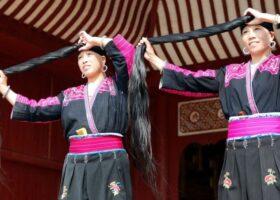 Племя в Китае, где живут Рапунцели