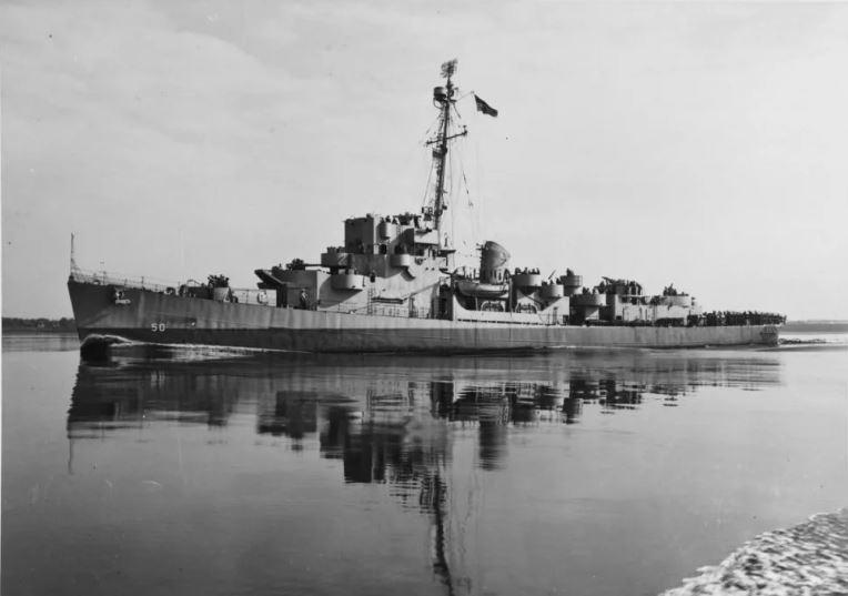 Эсминец военно-морского флота под названием Элдридж.