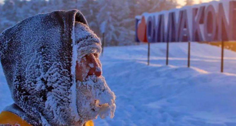 Оймякон - полюс-холода. Самое холодное жилое место на планете!