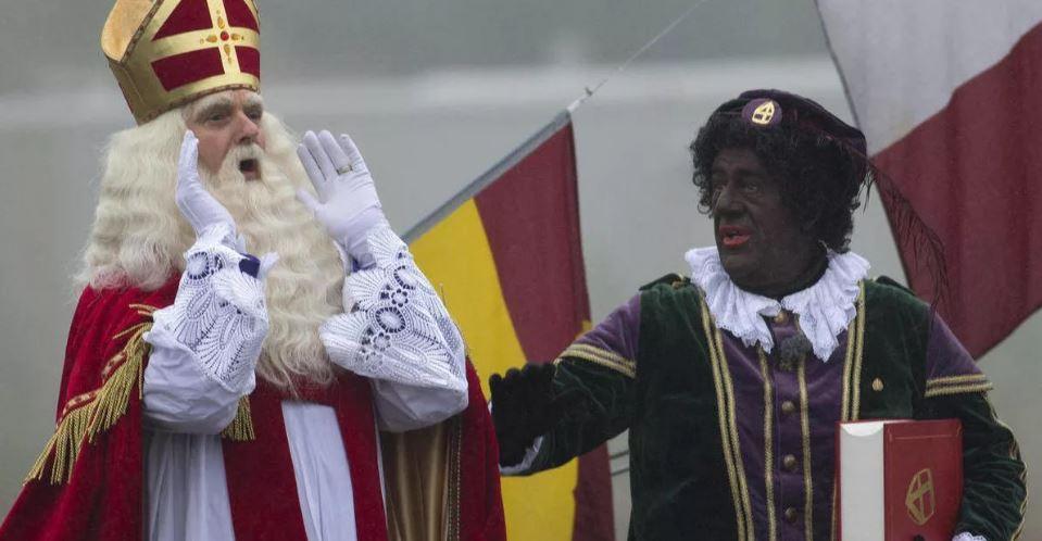 Чёрный Пит из Голландии.