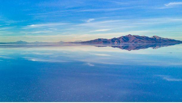 Неповторимые пейзажи самой большого солончака в мире.