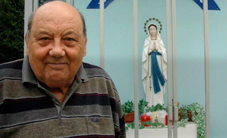 Святилище Девы Марии в благодарность за удачу.