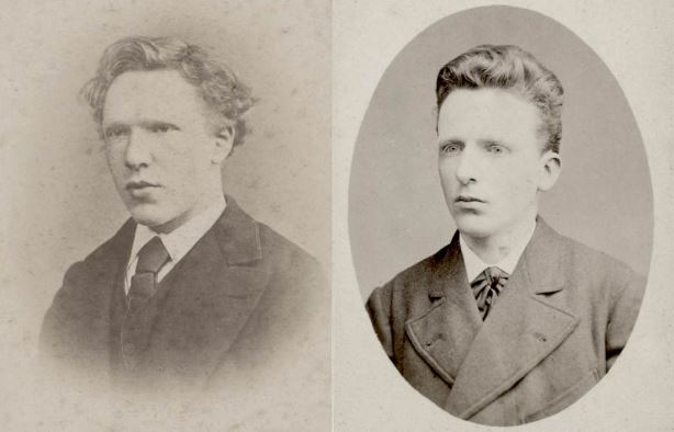 Винсент (слева), Тео (справа).