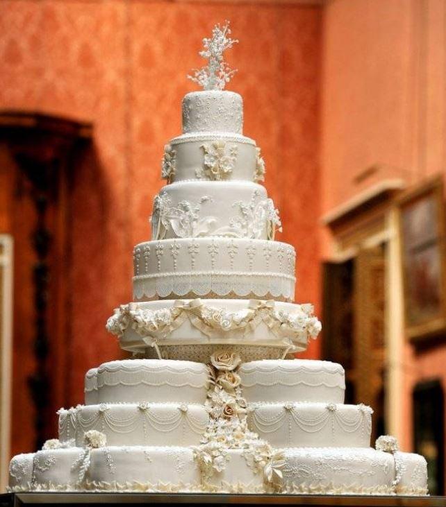 Королевский свадебный торт.
