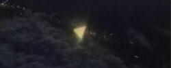 Треугольный НЛО снят над Техасом и Нью-Йорком