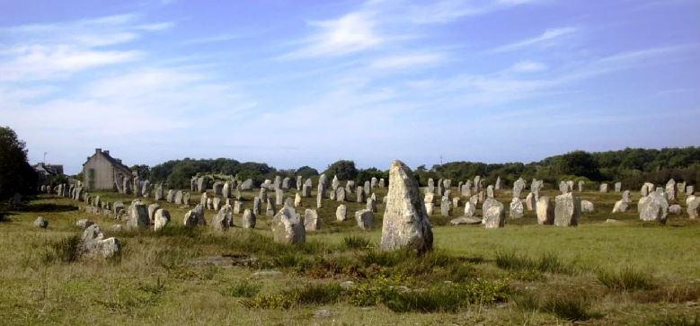 Карнакские камни.