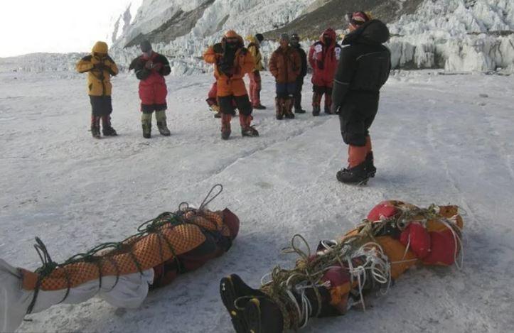 Глобальное потепление, гора Эверест и десятки тел на склонах.