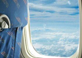 Пассажиры самолёта видели «человека, идущего по облакам»