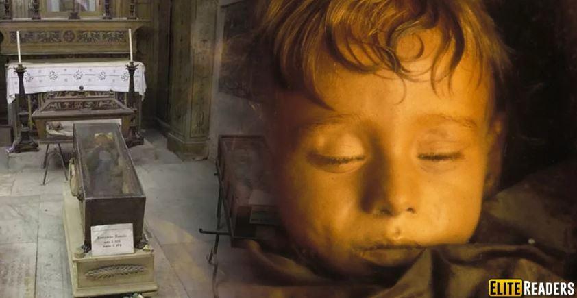 Спящая красавица - идеально сохранившаяся мумия двухлетней девочки.