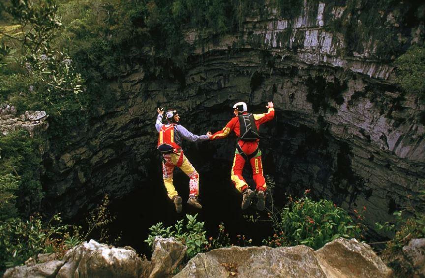 Пещера ласточек - одно из уникальных мест на планете.