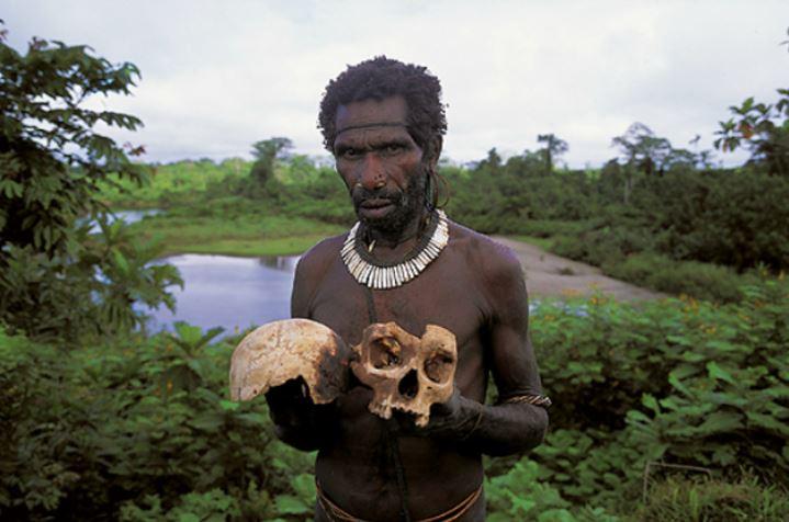 Короваи: первобытное племя каннибалов, живущее на деревьях.