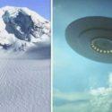 Неужели НЛО разбился возле Антарктиды?