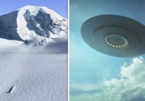 Неужели НЛО разбился в районе Антарктиды?
