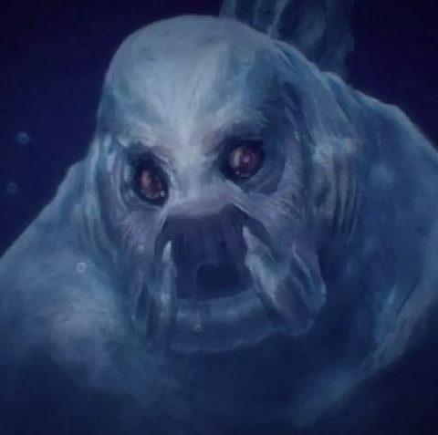 Нинген, гигантский монстр Антарктиды