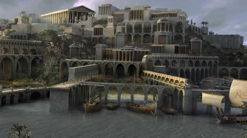 Загадочная Атлантида не дает покоя искателям древностей.