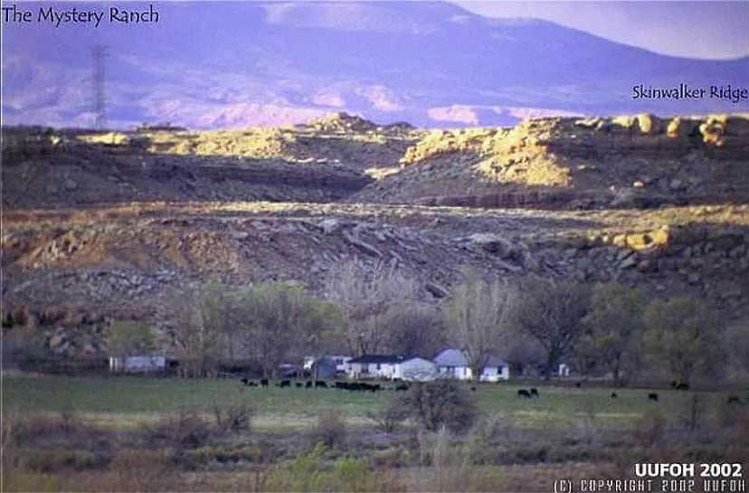 Местность паранормального ранчо Скинвокер.