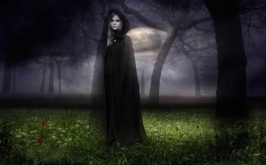 Какие бывают духи: дух в небе, гость, призрак, добрая фея.