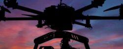 Странное видео НЛО — снятое дронами