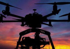 Странное видео НЛО – снятое дронами