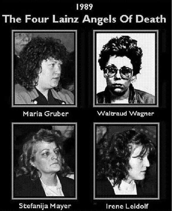 """""""Ангелы смерти"""" - милосердные убийцы Лайнца в Австрии."""