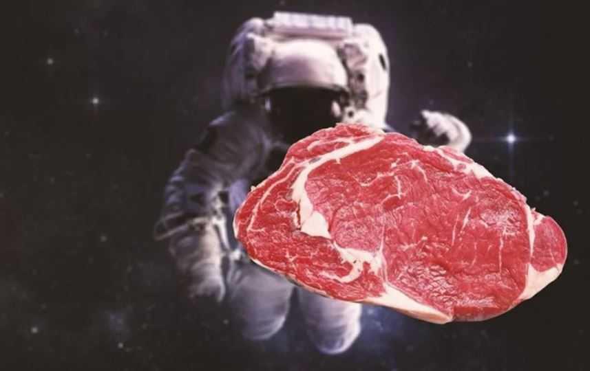 Астронавты вырастили мясо.