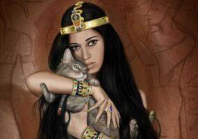 Священные кошки Египта – удобрение для современников