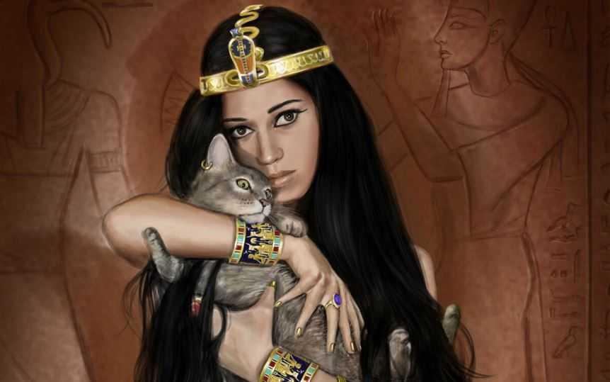 Священные кошки Египта - удобрение для современников