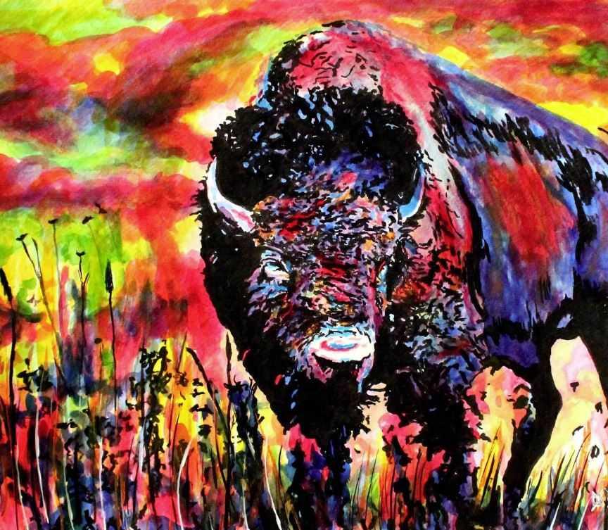 Сильные духом: слепой художник Джон Брамблитт.