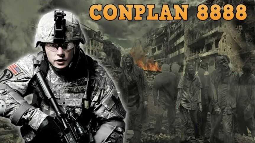 CONPLAN 8888. - план выживания во время нашествия зомби, руководство для военных.