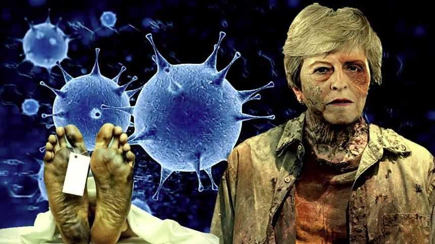 Некоторые вирусы способны сделать из живого человека - мертвого человека.