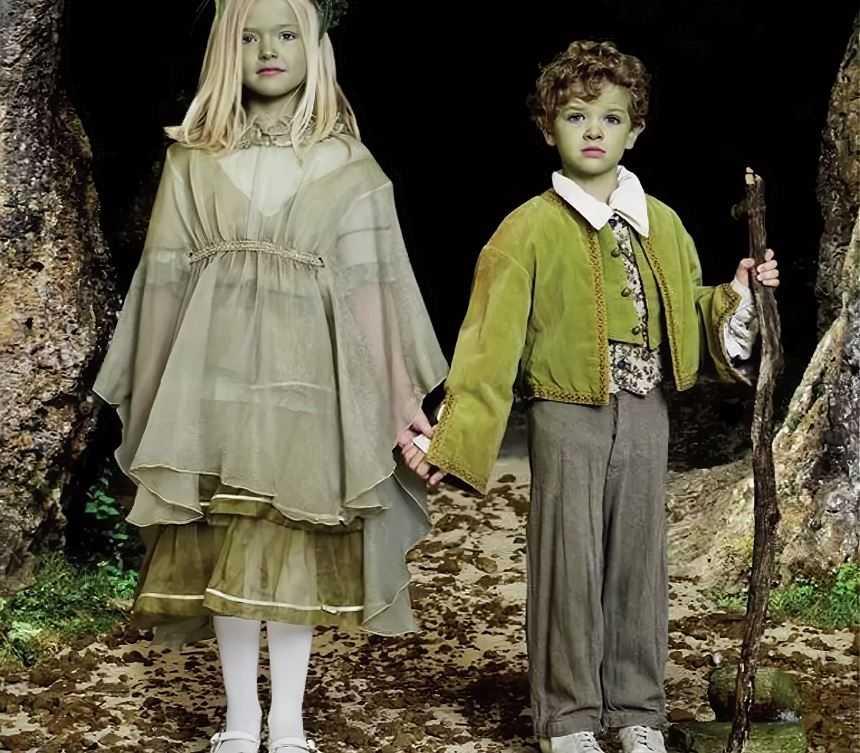 Зелено-кожие дети из Вулпита.
