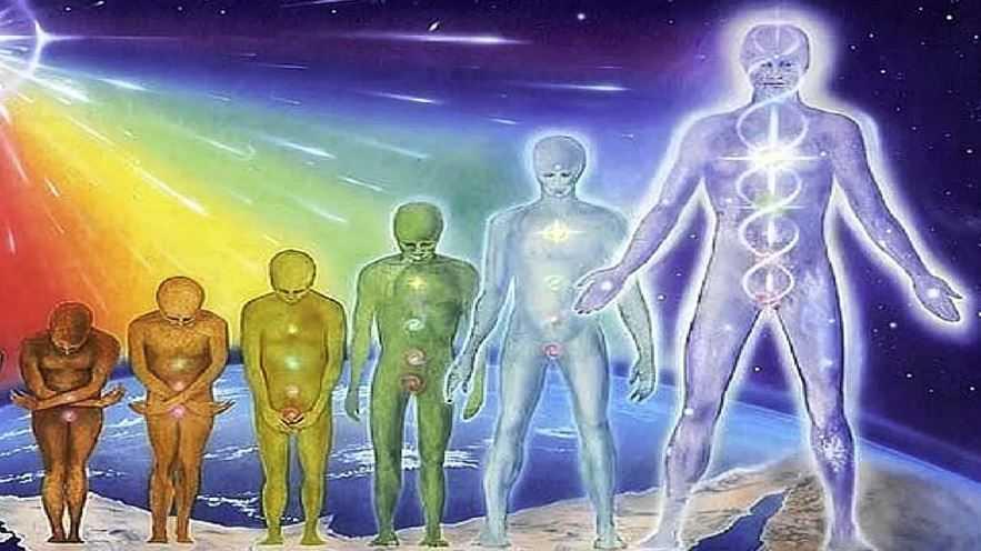 Человек - это временная оболочка для души, так же как и растение.