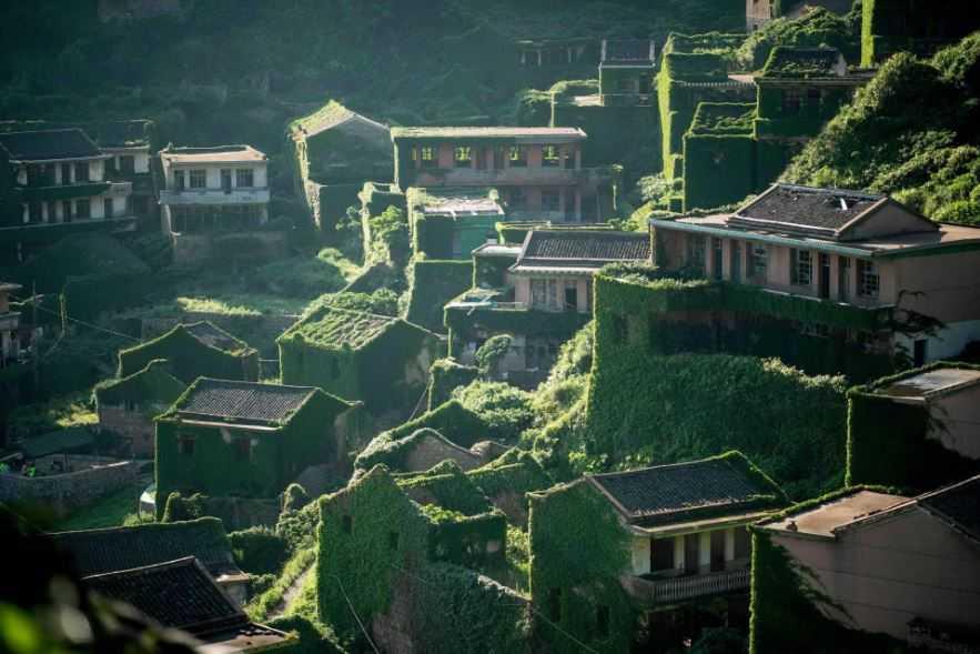 Китайский город из которого исчезли все жители.